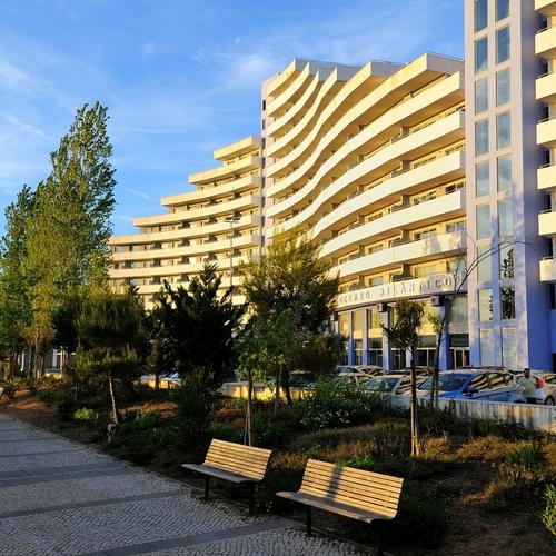 Fachada Apartamentos Oceano Atlântico